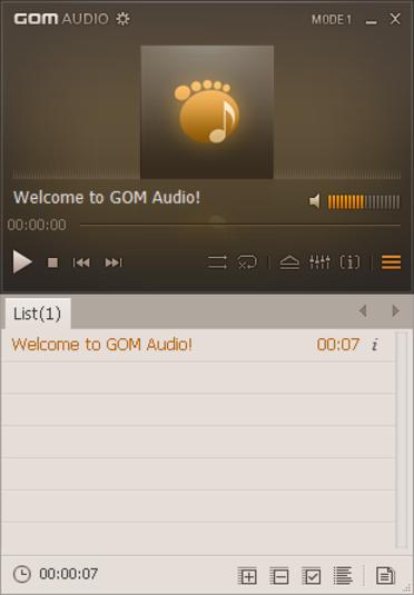 GOM Audio Screenshot 2