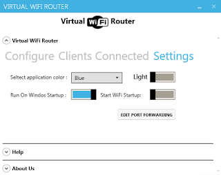 Virtual WiFi Router Screenshot 3