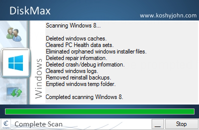 DiskMax Screenshot 3