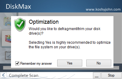 DiskMax Screenshot 2