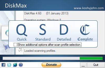 DiskMax Screenshot 1