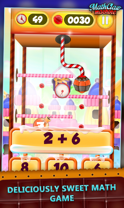 Math Claw Machine Screenshot