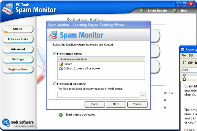 Spam Monitor Screenshot 6