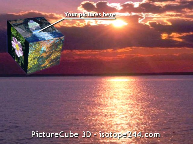 Picture Cube 3D Screenshot
