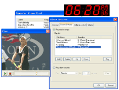Computer Alarm Clock Screenshot
