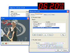 Computer Alarm Clock Screenshot 2