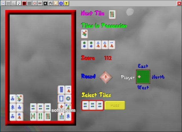 Mahjong Rain Screenshot