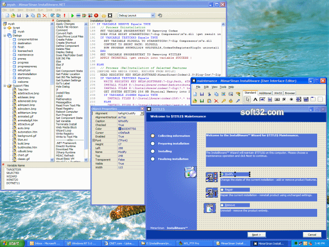 InstallAware Developer for Windows Installer Screenshot 2