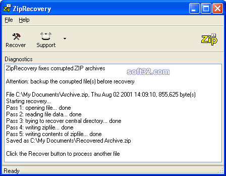 ZipRecovery Screenshot 3