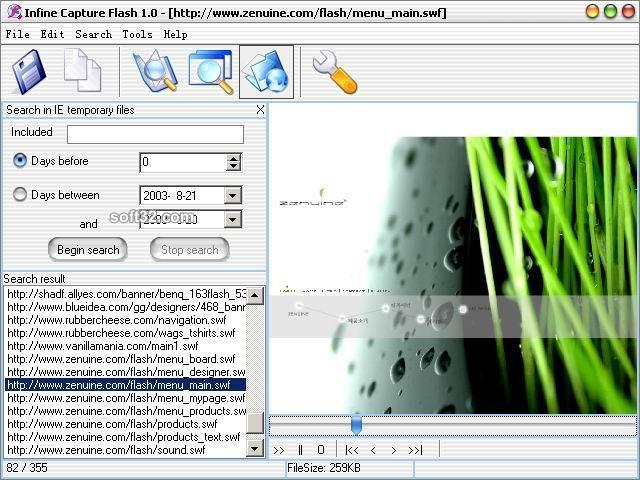 Infine Capture Flash Screenshot 3