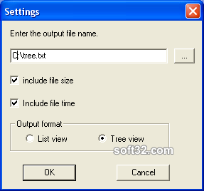 File Tree Printer Screenshot 4