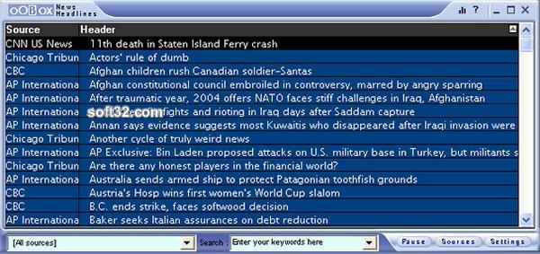 News Headlines Screenshot 3