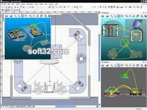 3D Visioner - 3D Visualization for Visio Screenshot 3