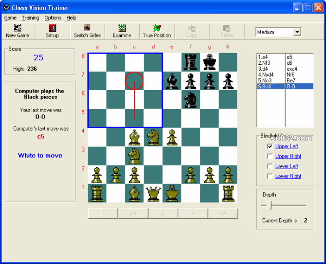 Chess Vision Trainer Screenshot 3