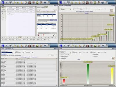 Cafe management software Screenshot