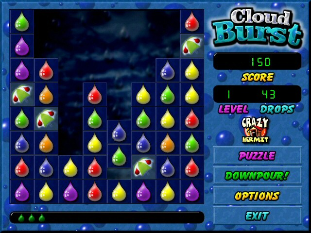 Cloud Burst Screenshot
