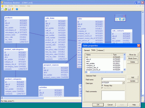 Database Architect Screenshot