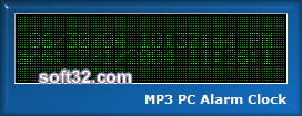 MP3 PC Alarm Clock Screenshot 1