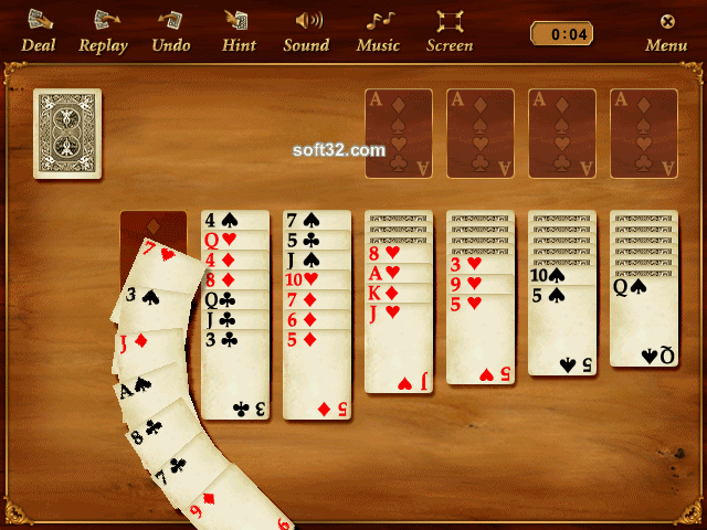 GameBox Solitaire Screenshot