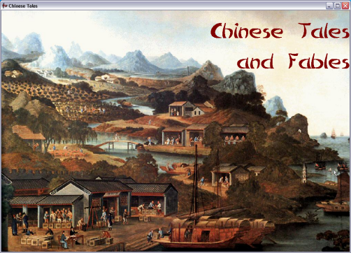 Chinese Tales and Fables Screenshot