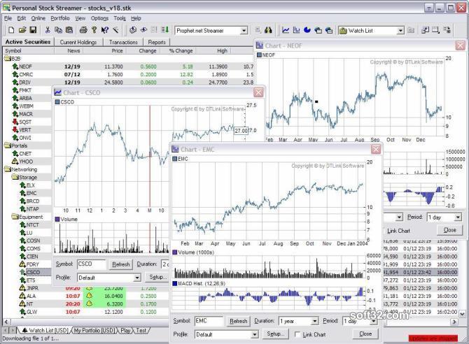 Personal Stock Streamer Screenshot 3