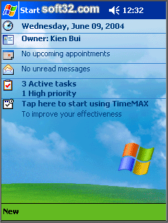 TimeMAX Screenshot