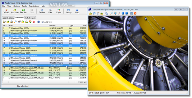 AcuteFinder Screenshot 2