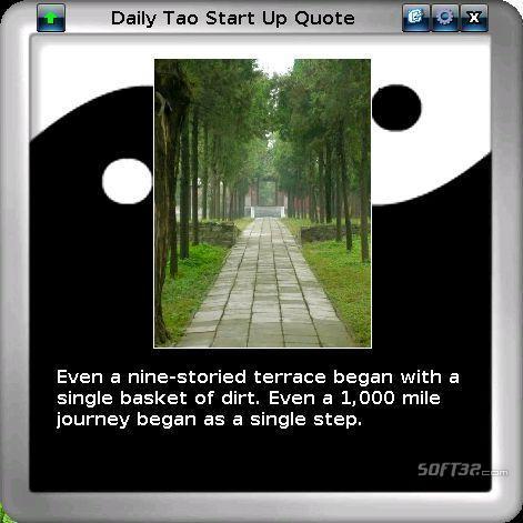 Daily Tao Quote Screenshot 2