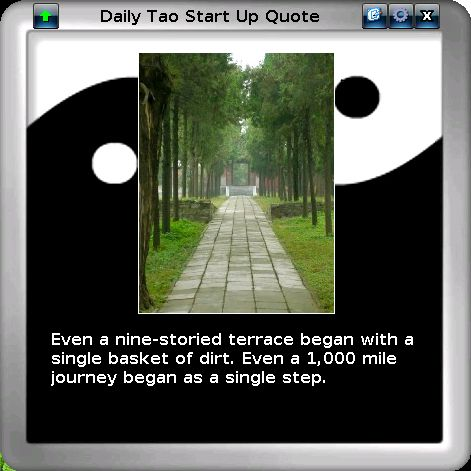 Daily Tao Quote Screenshot
