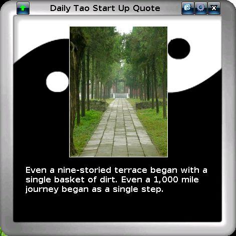 Daily Tao Quote Screenshot 1