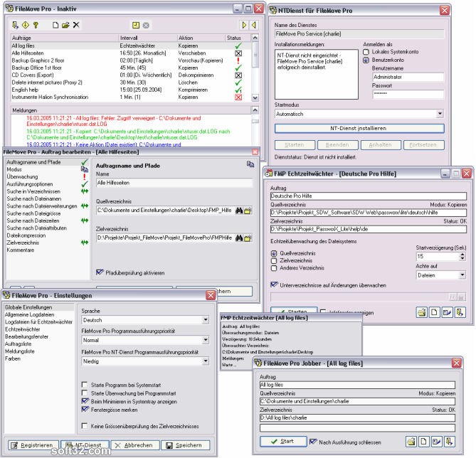 FileMove Pro Screenshot 2