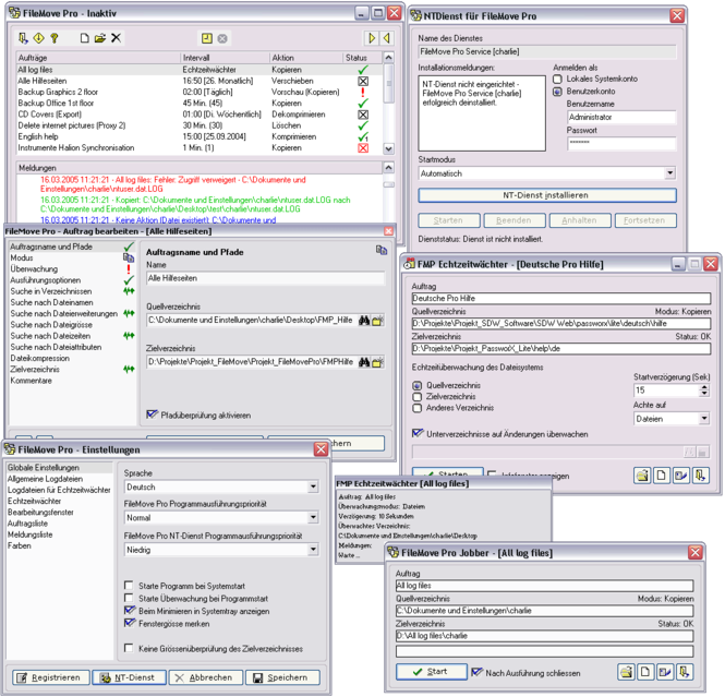 FileMove Pro Screenshot