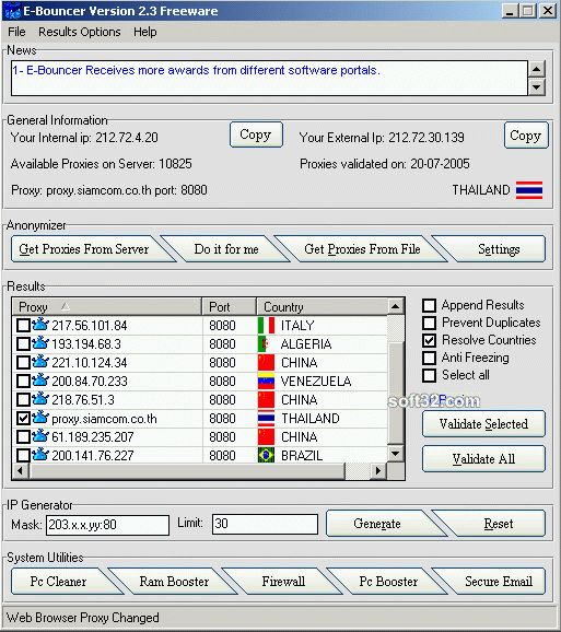 E-Bouncer Screenshot 2