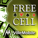 Freecell (for Palm OS) Screenshot