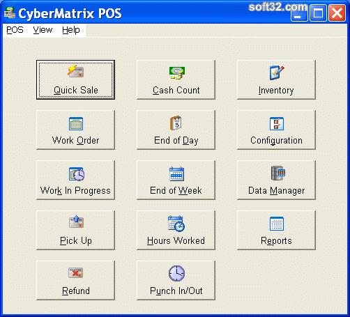 CyberMatrix Point Of Sale Screenshot 2