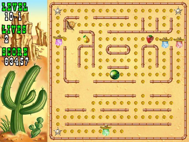 Pacmania Gold Screenshot