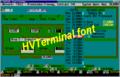 HVTerminal TrueType Terminal Font 1