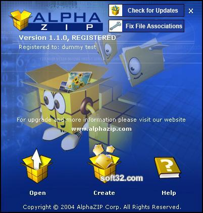 Alpha ZIP Screenshot 2