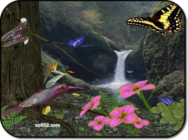 Butterflies3D Screenshot 2