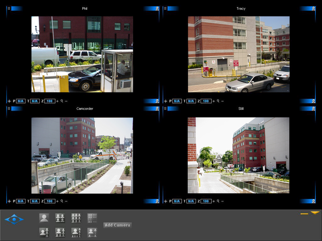CamPanel Digital Surveillance Screenshot
