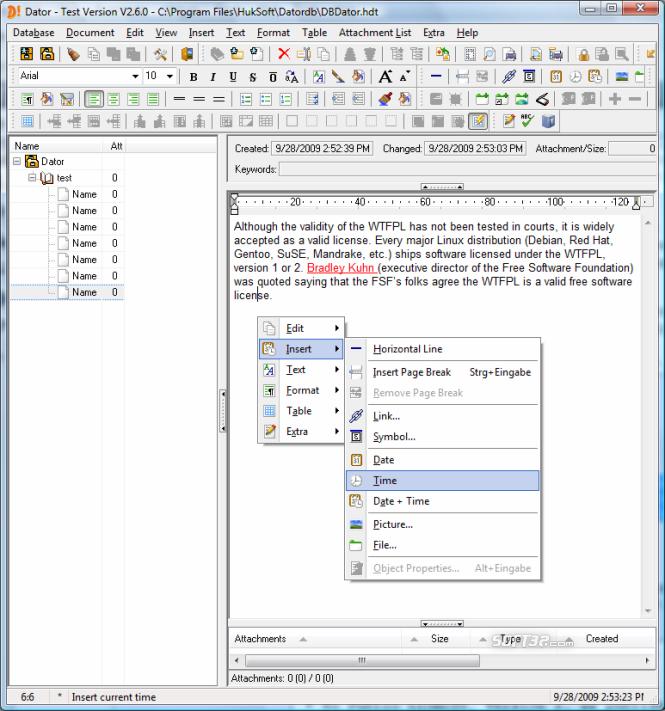 Dator Screenshot 4