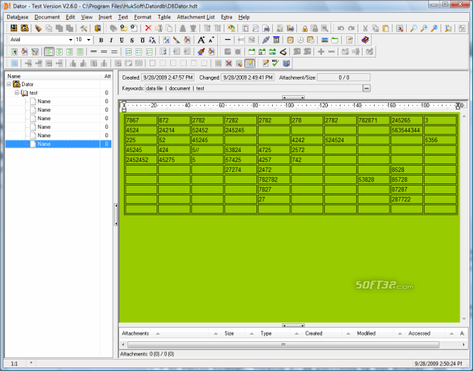 Dator Screenshot 2