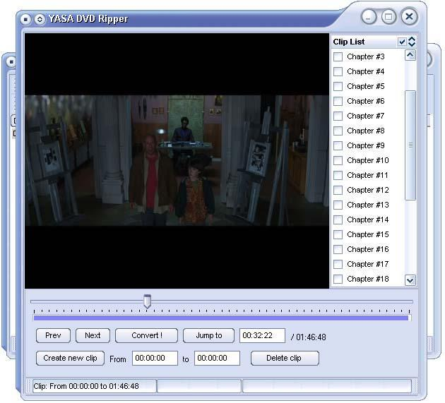YASA DVD Ripper Screenshot
