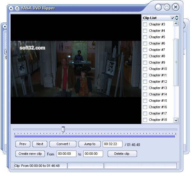 YASA DVD Ripper Screenshot 2
