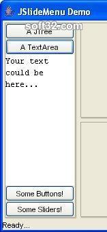 JSlideMenu Screenshot 2