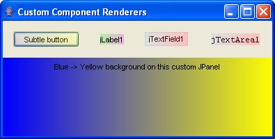 Renderers Screenshot