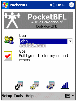 PocketBFL: Body for LIFE Companion Screenshot 2