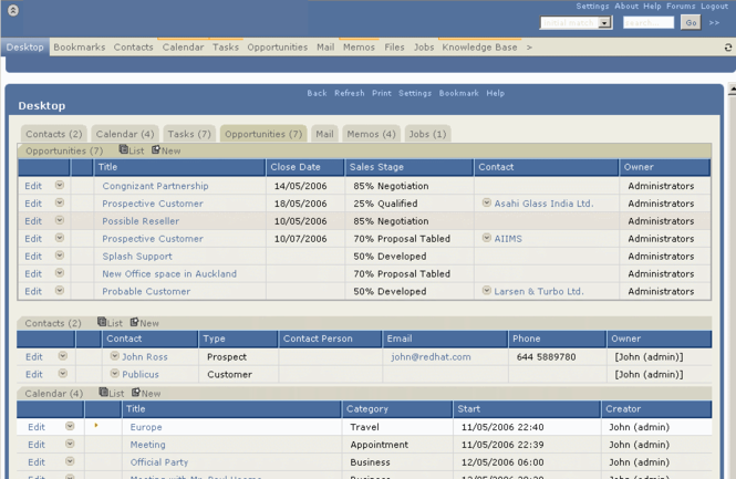 BrowserCRM Professional Screenshot 1