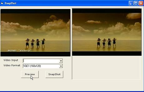 VISCOM WebCam Capture SDK ActiveX Screenshot