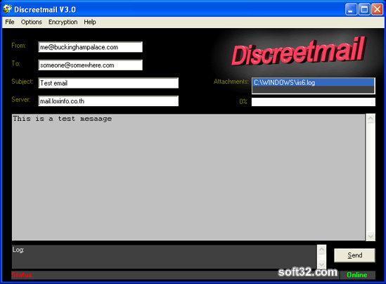 Discreetmail Screenshot